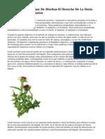 Medicamentos A Base De Hierbas-El Derecho De La Dosis Sin Efectos Secundarios