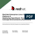 Red Hat Enterprise Linux OpenStack Platform-5-Getting Started Guide-En-US
