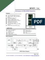 RFM73 Datasheet V2.0