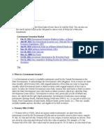 Government Securities Market-rbi Faqs