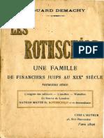 Demachy Edouard - Les Rothchild Une famille de financiers juifs au XIXe siecle - T1.pdf