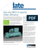 ENote-Use Only NPLV to Specify Chiller Efficiency