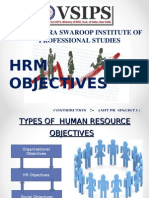 HRM Objective