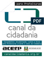 Cartilha Canal Da Cidadania