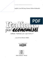 Italiano Per Economisti - Laura Incalcaterra McLoughlin, Luisa Pla-Lang, Giovanna Schiavo-Rotheneder