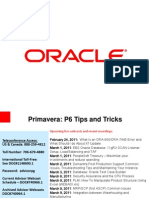 Final P6 Tips and Tricks-Revised-022311