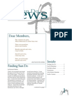 Sun Do Newsletter Winter 2014