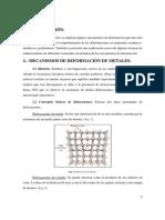 Mecanismos Endurecimiento Metales