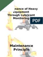 Maintenance of Heavy Equipment.ppt