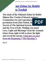 121The Tikkunei Zohar by Ra...Ar Promise Tikkun#6..