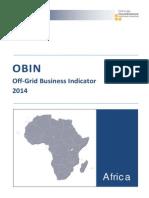 Obin Africa 2014 Final