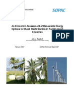 Rural Electrification in Pacific Islands, 2-2007
