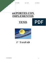 Apuntes de Tenis