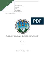 T03 - Planeación y Desarrollo Del Informe de Investigación