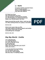 Lirik Lagu Baru