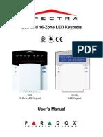 Keypads User Manuel