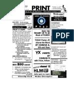 January 17 2010 Newsletter Small Nationwide
