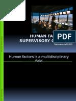 3 Human Factors and Supervisory Control