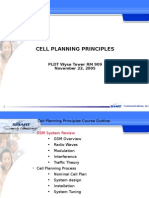 Cell Planning Principles for Cadet