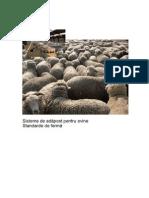 Sisteme de Adapost Pentru Ovine