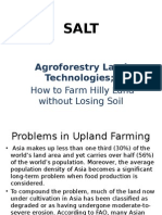 Slopping Agriculture Land Technology