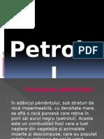 Petrolul-chimie
