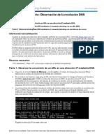 10.2.2.9 Lab - Observing DNS Resolution Nuevo Finalizado