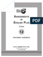 Assig in English Plus Core 12 Th