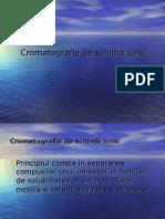 Curs 6 Cromatografie de Ioni