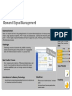 Value Assessment for Demand Signal Management