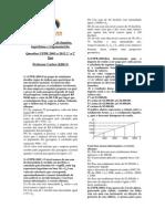 Lista de Exercícios Funções UFPR 2003 2011