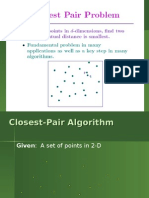 Lecture 37 Closest Pair