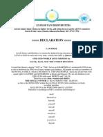 Queens QUEEN Declaration 11-12-2014