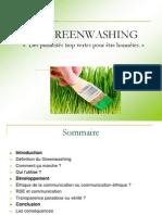 Greenwashing.