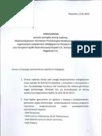 """Porozumienie czy """"porozumienie"""" – Dokument czy """"dokument""""?"""