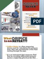 Orifice Meter