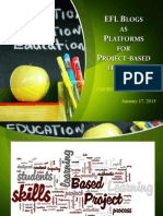 EFL Blogs as Platforms for PBI, Assignment 13
