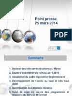 Presentation Point Presse 25 Mars 2014