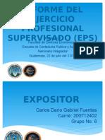 Diapositivas informe eps