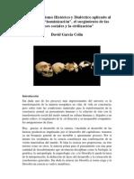 Proceso de Hominización_Materialismo Hco y Dialéctico