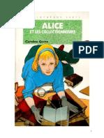 Caroline Quine Alice Roy 81 BV Alice et les collectionneurs 1995.doc