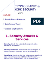 Unit I{1.Security Attacks & Services}