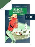 Caroline Quine Alice Roy 73 BV Alice et le fantôme de la crique 1989.doc