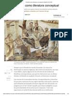 Filosofía Como Literatura Conceptual _ Babelia _ EL PAÍS