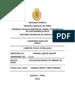 Carpeta Fiscal Coronel