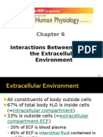 Interactions Cells Extracellular Part 1
