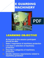 4 - Safe Guarding of Machinery