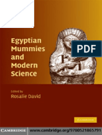A. Rosalie David.......Egyptian Mummies and Modern Science (by House of Books)