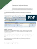 SAP New GL #9 Customise Cross Company Code Postings for Document Splitting