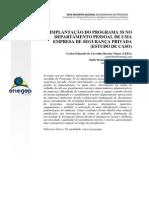 IMPLANTAÇÃO DO PROGRAMA 5S NO DEPARTAMENTO PESSOAL DE UMA EMPRESA DE SEGURANÇA PRIVADA (ESTUDO DE CASO)